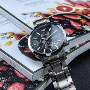 Emporio Armani AR11165 Herrenuhr Chronograph | UhrenBay