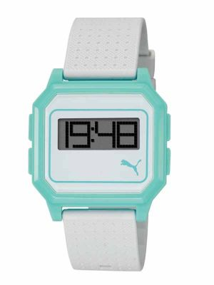 Puma PU910951008 Flat Screen Blue Unisex Digitaluhr