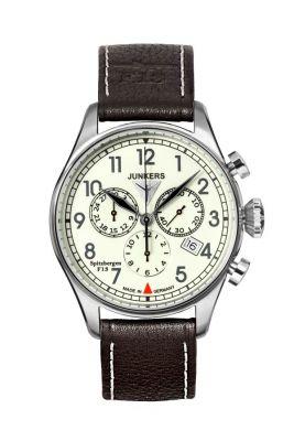 Junkers 6186-5 Spitzbergen Herrenuhr Chronograph