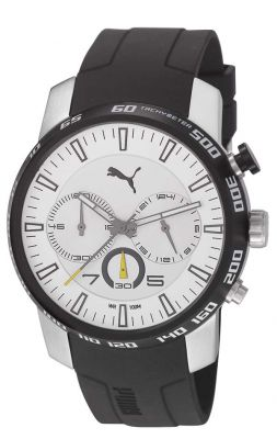 Puma PU103051001 Essence Chrono Silver Herrenuhr