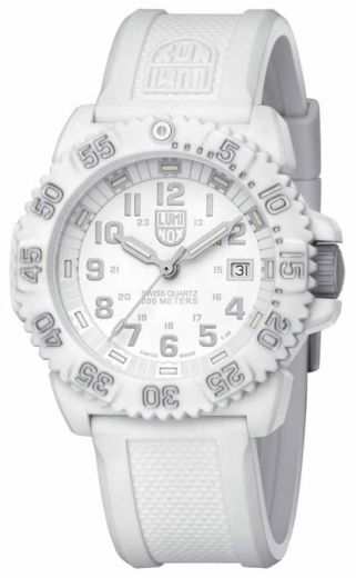 Luminox US Navy SEAL 3057.WO White Out Militäruhr H3