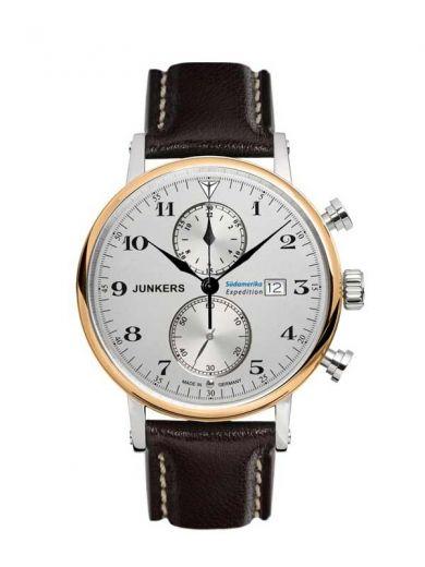 Junkers 6586-5 Expedition Südamerika Chronograph Herrenuhr