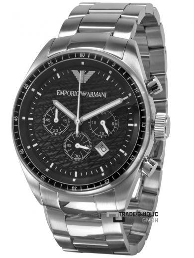 Emporio Armani AR0585 Herrenuhr Chronograph