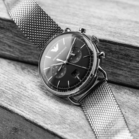 Emporio Armani AR11104 Herrenuhr Chronograph| UhrenBay