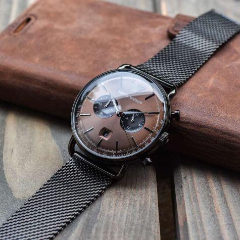 Emporio Armani AR11141 Herrenuhr Chronograph