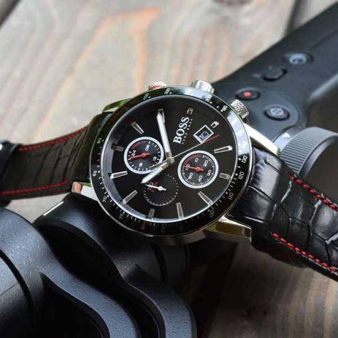 Hugo Boss HB1513390 Rafale Herrenuhr Chronograph