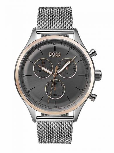 Hugo Boss 1513549 Companion Herrenuhr Chrongraph