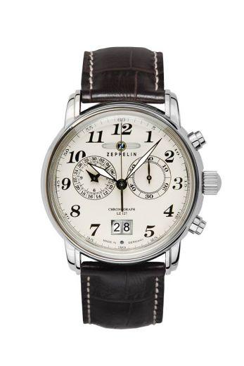 Zeppelin 7684-5 Herrenuhr Chronograph Graf Zeppelin