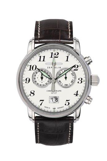 Zeppelin 7686-1 Herrenuhr Chronograph Graf Zeppelin | UhrenBay